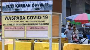 3.622 Kasus Baru Positif Corona Hari Ini, Rekor Tertinggi