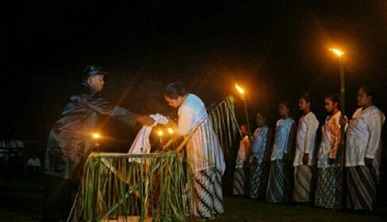 Sekelumit Ritual Rora Ake Dango di Tidore