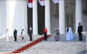 Presiden Jokowi Terima Surat Kepercayaan Empat Duta Besar Negara Sahabat