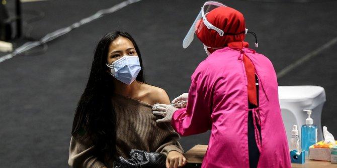 Data Terkini Vaksinasi Dosis 1 dan 2 di Indonesia 20 September 2021