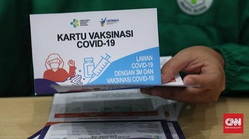 Sertifikat Vaksin Jadi Syarat Perjalanan PPKM Darurat