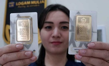 Harga Emas 24 Karat Antam Hari Ini Jumat 15 Mei 2020