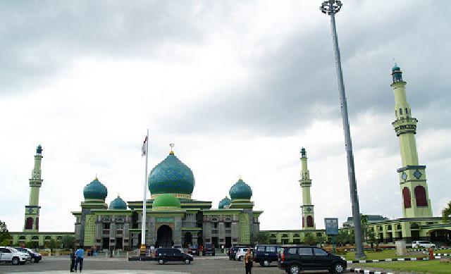 Masjid Agung An-Nur Tempat Wisata Religi